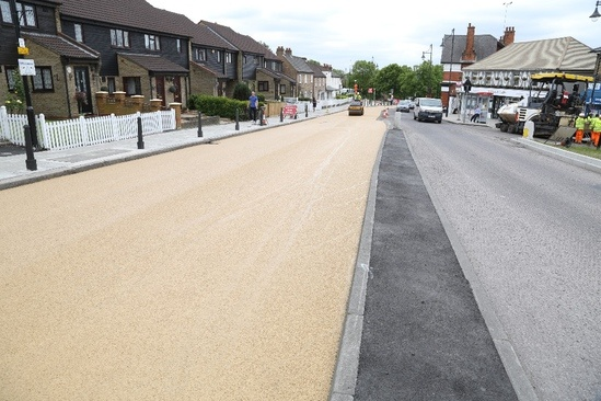 NatraTex Cotswold bound surfacing for highways