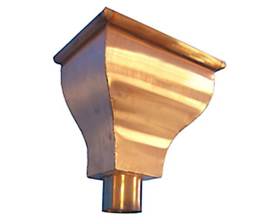Copper Gutter Downpipe Hopper Heads Metal Gutta Esi