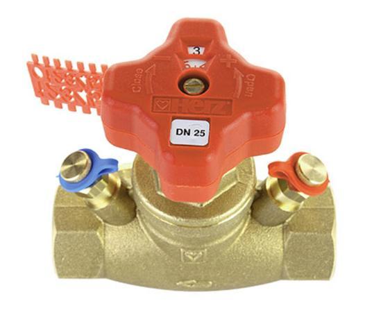 VODRV commissioning valve