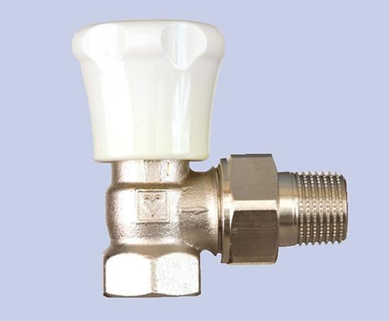 DR wheelhead radiator valve