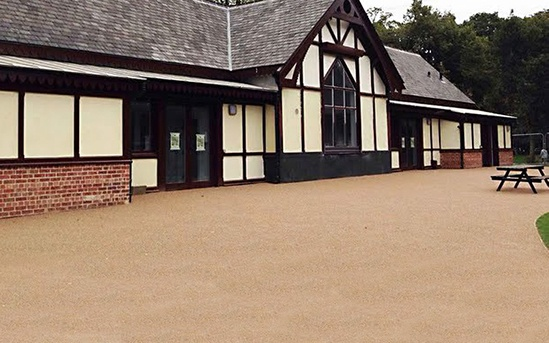Resin bonded surfacing for Alexandra Park regeneration