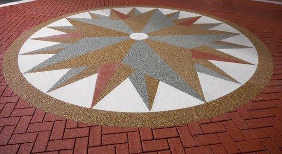 Compass design, Bucks County Justice Centre, PA