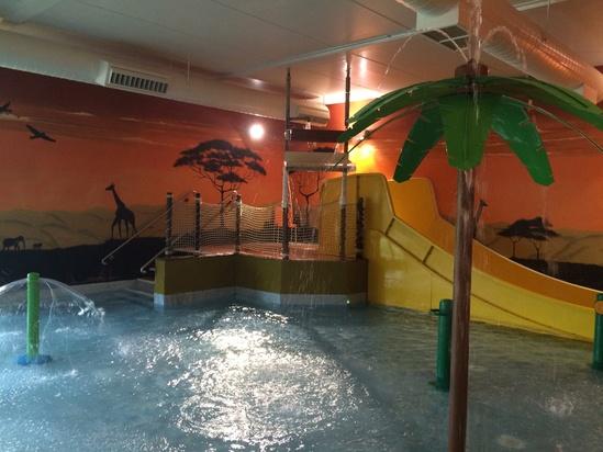 Non slip surface for Chessington Safari Hotel