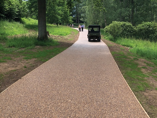 Terrabase Rustic surfacing, Wakehurst Place, W Sussex