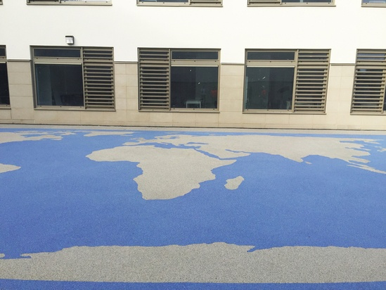 Addacolor surfacing, Portobello High School