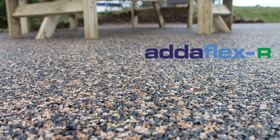 Addaflex-R flexible bound surfacing