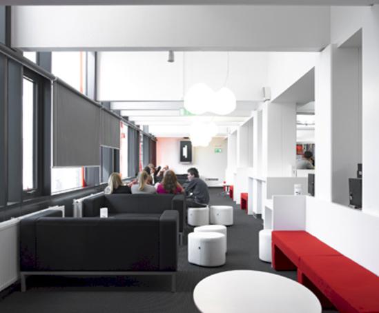 hi macs for award winning newcastle university project