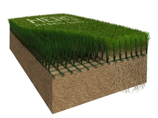 HERO Hybrid Grass profile