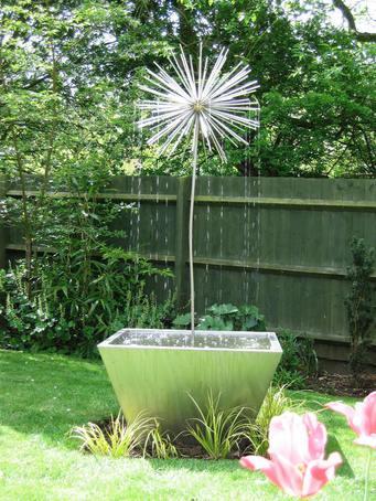 Allium water feature