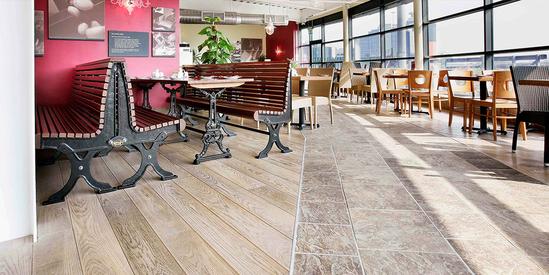 Strata hard floor sound reduction systems