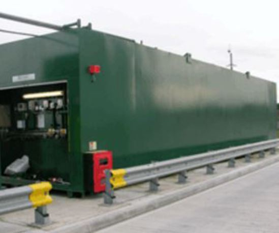JA Envirotanks system at North Midlands fuel depot