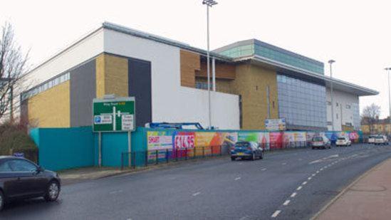 Anti-graffiti protection - Huddersfield's new centre