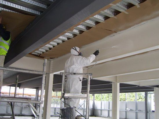 Nu-Flame fire retardant paints for structural steel