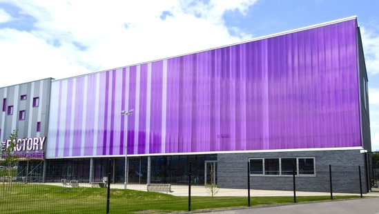 Translucent Cladding Panels Reduce Costs For Sports Hall