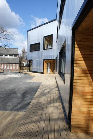 Transparent Rainscreen Cladding For Sixth Form Centre