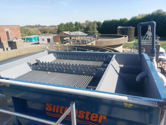 The new Siltbuster HB50M lamella settlement tank