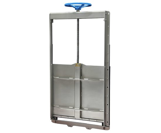 Wall-mountable MU penstock