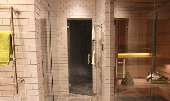 Sauna for South West London property