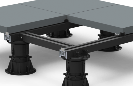 ALUrail system for paving support