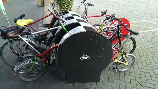 6 bike V-Rack unit