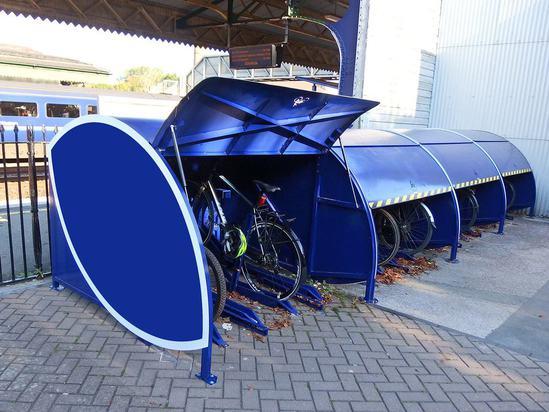 VeloStore locker for multiple cycles