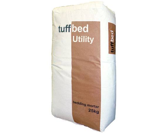 tuffbed - supplied in moisture-resistant 25 kg bags