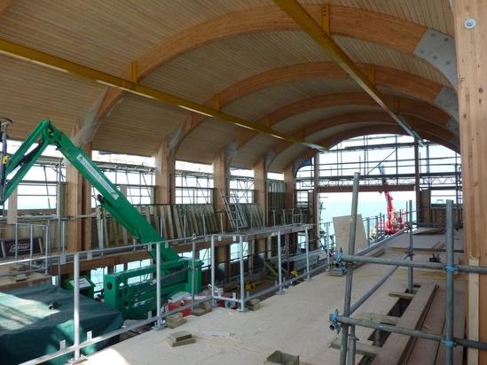Glulam timber beams and joists