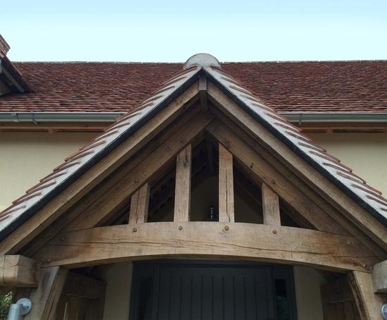 Oak timber frames