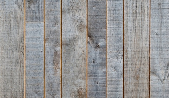 Pre-weathered chestnut timber cladding