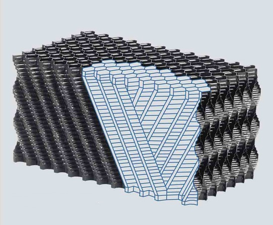 PLASdek® KZC 319 cross-fluted fill