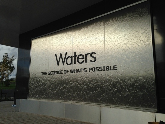 Waters Mass Spectrometry Stainless Steel Water Wall