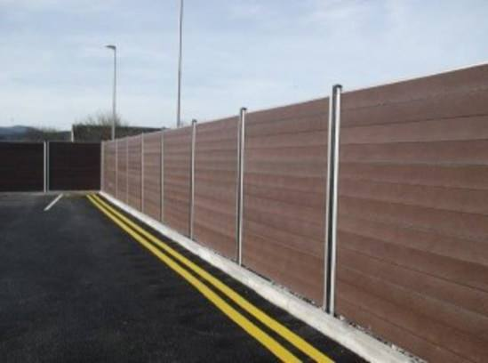 Sustainable fencing solution for network rail goplastic esi external works - Pvc fencing solutions ...