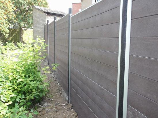 GovaWall® - solid tongue and groove board fence system