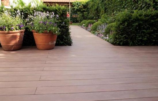 Govadeck anti slip recycled plastic decking boards for Recycled decking boards