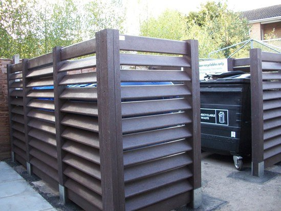 Places for People - bin bays