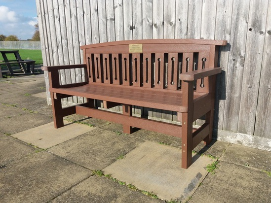 Hertford Bench at Unilever PLC