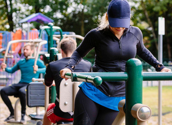 Outdoor gym - Windlesham, Surrey