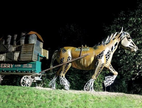 Leyland Horse sculpture, Lancashire