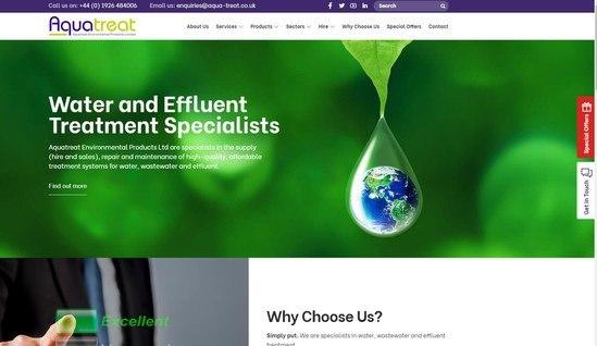 New Aquatreat website
