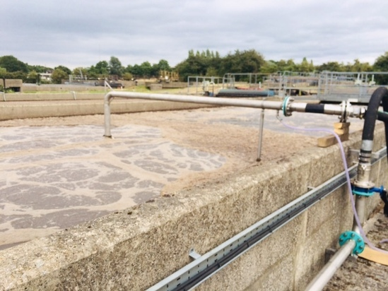 Temporary aeration solution for oxidation ditch