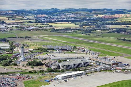 SDS GEOlight® stormwater tanks for Edinburgh Airport