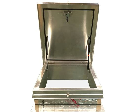 SRHA aluminium roof hatch