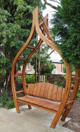 Oak Onion Arbor