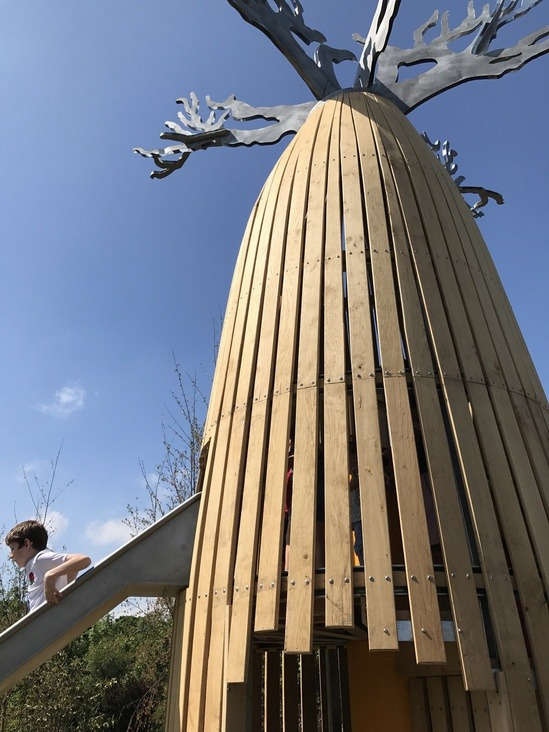 Landscape Supply Co >> Baobab tree and slide sculpture - Chester Zoo | Handspring Design | ESI External Works