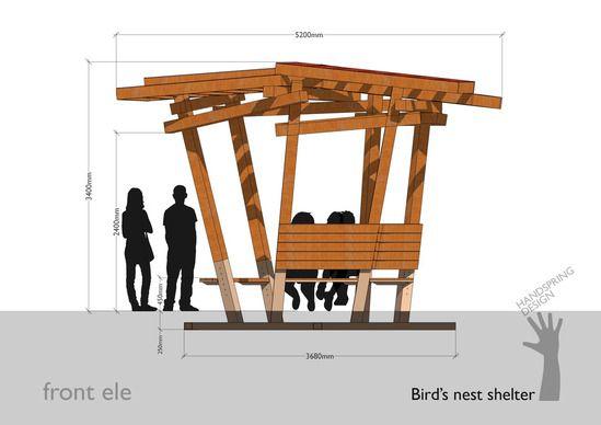 Birds Nest Youth Shelter design
