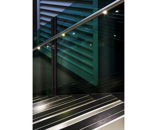 Q Lights Low Voltage LED Illuminated Handrail Q Railing ESI Building Design