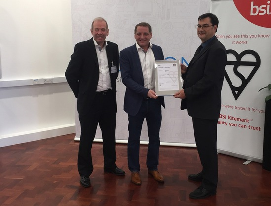 Q railing awarded BSI Kitemark for protective barriers