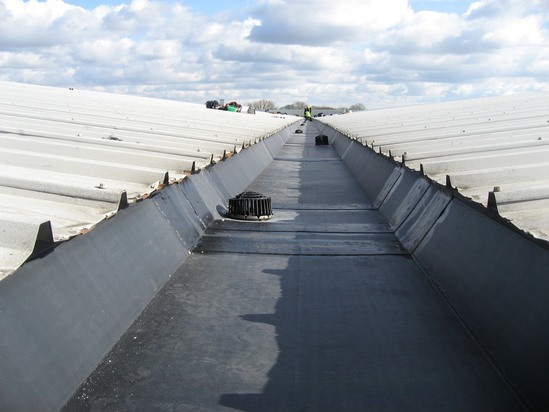 Gutter Lining Contractors Unifold Gutter Lining System