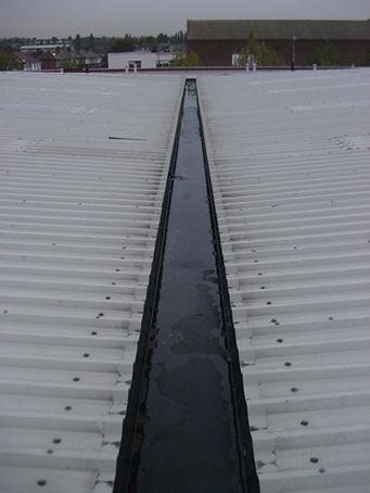 Unifold 174 Gutter Lining System Ampteam Esi Building Design