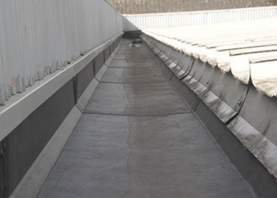 Unifold 174 Gutter Lining System Refurbishment For Offices
